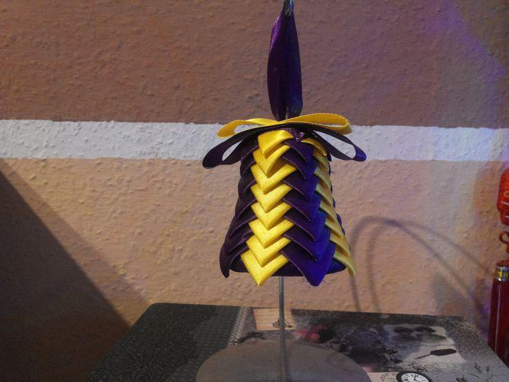 Bell Lakers ribbon / Dzwonek Lakers wstążka