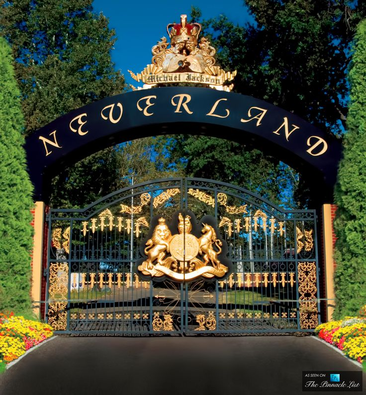 Main Gate to Michael Jackson's Neverland Valley Ranch - 5225 Figueroa Mountain Road, Los Olivos, CA