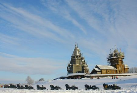 Kizhi island is one of the oldest architectural, historic and ethnographical museum in Russia, which is also situated in the open air.
