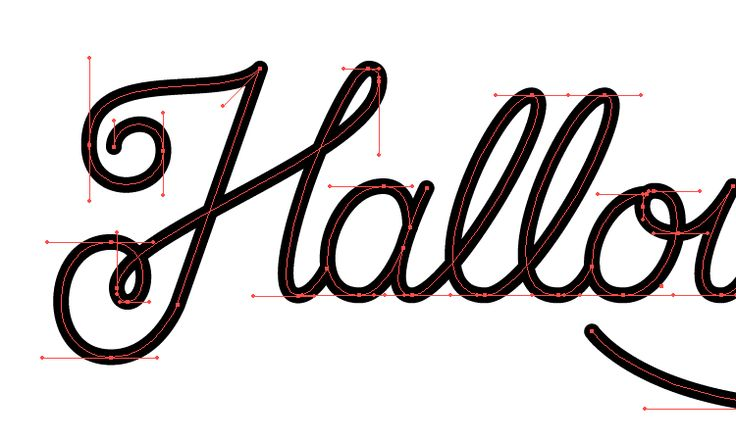 Learn how to start vectorizing your hand lettering with this free tutorial from Sarah Dayan.