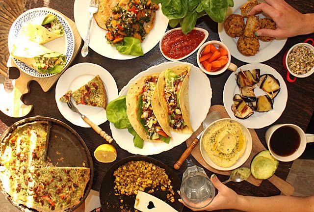 žít vege: slaný vegan brunch