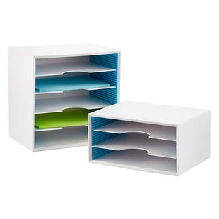 Got the small one for my entryway so I can quickly sort bills, receipts, magazines, etc.