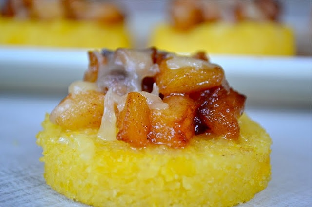 Polenta with Caramelized Apples