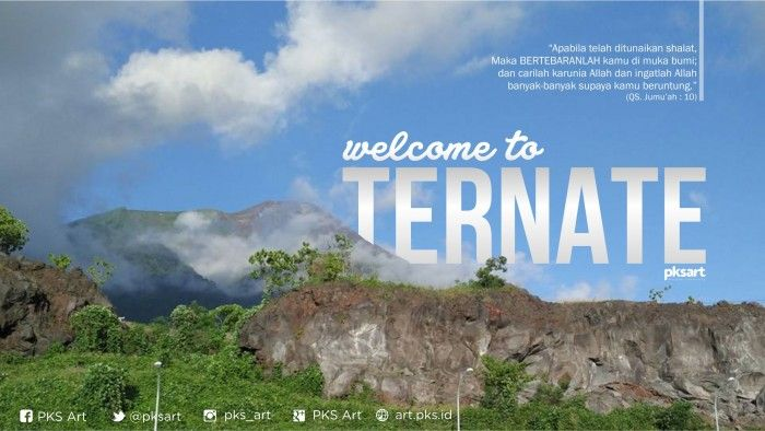 Welcome to Ternate