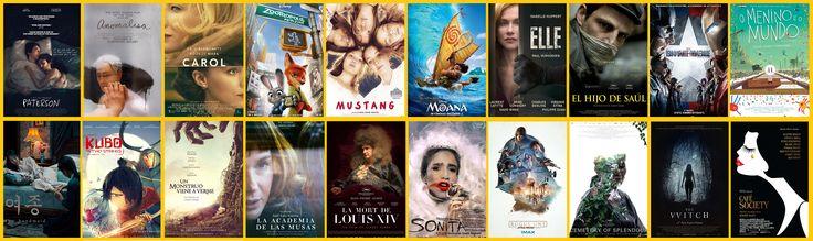 [Top 20] Mejores películas de 2016 según los colaboradores de Cine a la Carbonara. Esperamos que os guste nuestra selección. #BestMovies2016