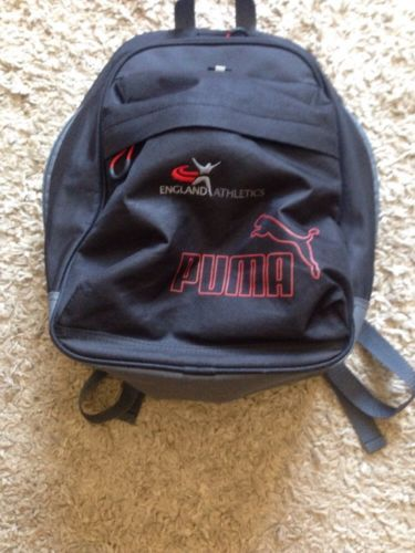 Puma #england #athletics team gb  bag backpack rucksack athlete #issue,  View more on the LINK: http://www.zeppy.io/product/gb/2/371707250335/