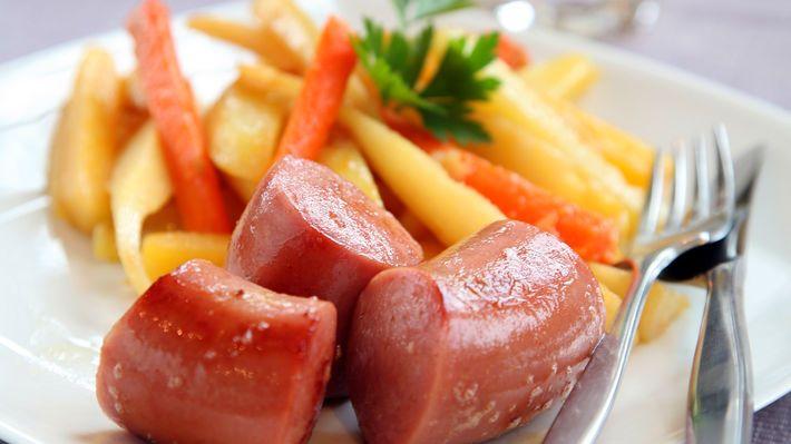 MatPrat - Vossakorv med rotgrønnsaker