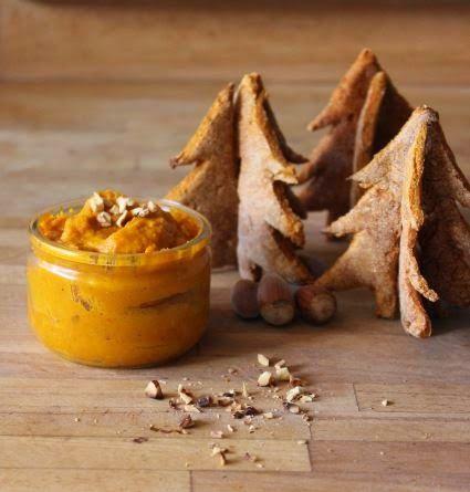 Tartinade de Potimarron Noisettée et ses Crackers #recette #végétal #vegan