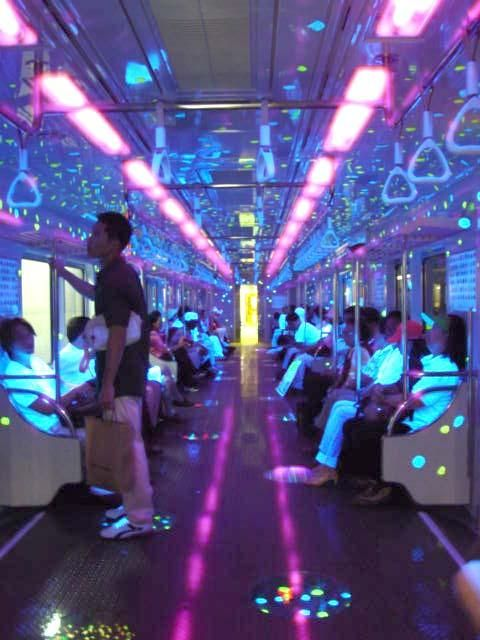Meanwhile in Korea... A Lighted Subway