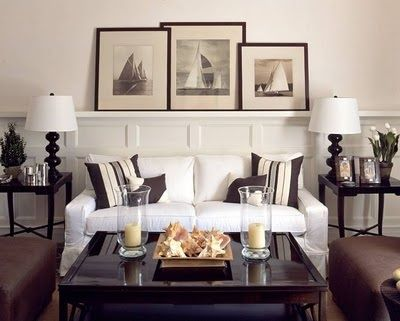 Love the pictures, good idea for creating a coastal relaxed theme  for ibh dining room?