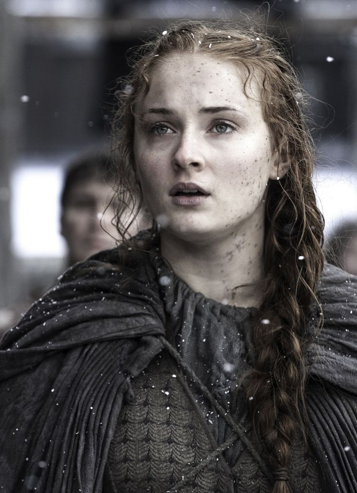 Sansa Stark sees Jon Snow, Game of thrones (season 6, ep 4) published by Blixtnatt