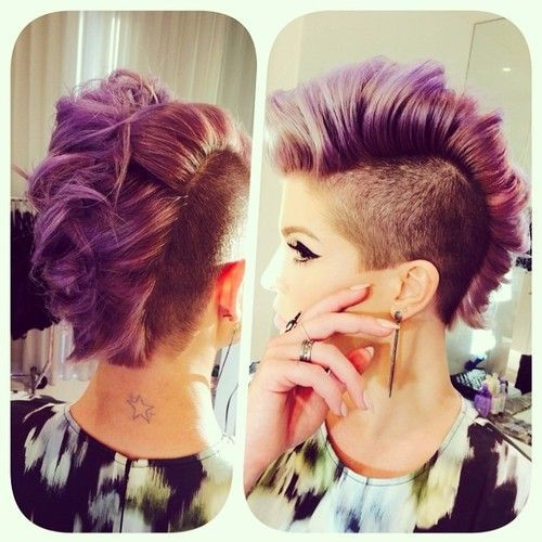 12 Faux Hawks and Mohawks you would like to wear!