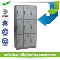 Metal clothes storage used school lockers for sale