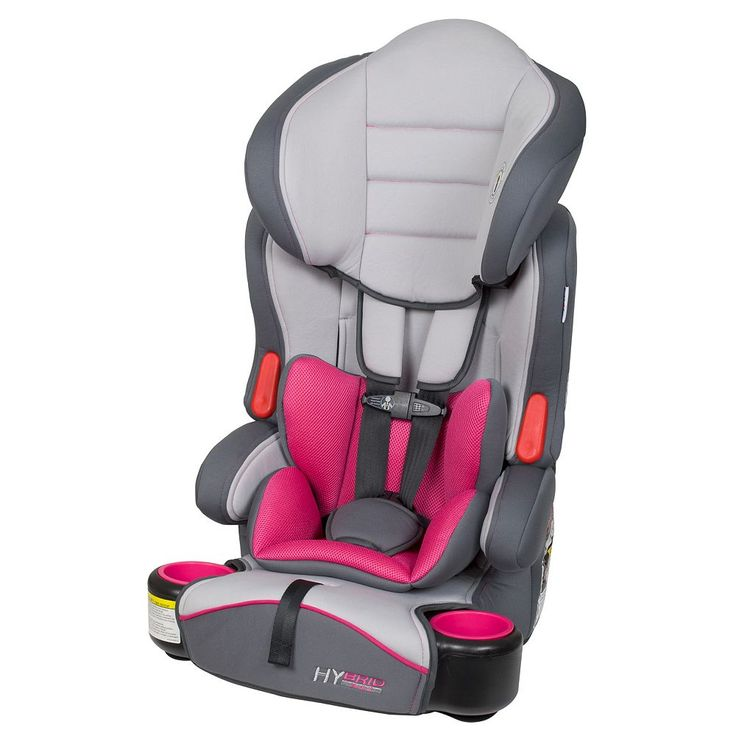 Baby Trend Hybrid LX 3-in-1 Booster Car Seat, Purple