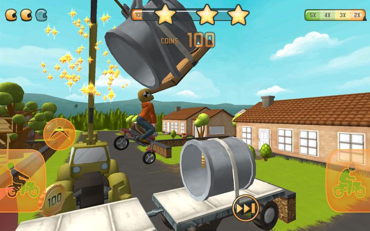 Fail hard game is an extremely interesting game, especially for the kids. The game really shows some good physics stunt. You can be the great stuntman in the game, no matter that you are not an athletics or something like this. Just play the game for a while and keep your eyes concerned about the taps and be attentive, you will be the awesome performer of these stunt.