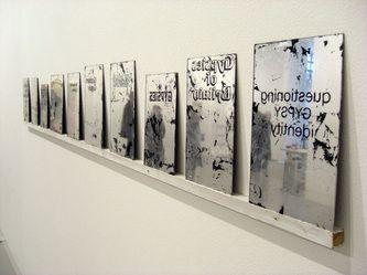 """""""Mirrored Books"""" Daniel Baker, 2008"""