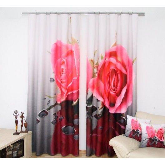 Záves - Ruže