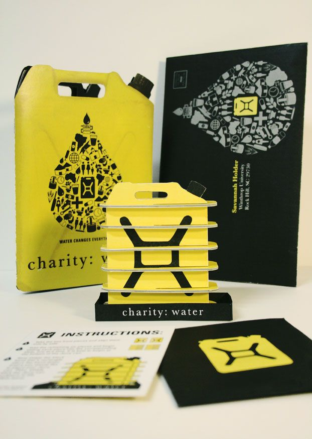 charity: water - mailer