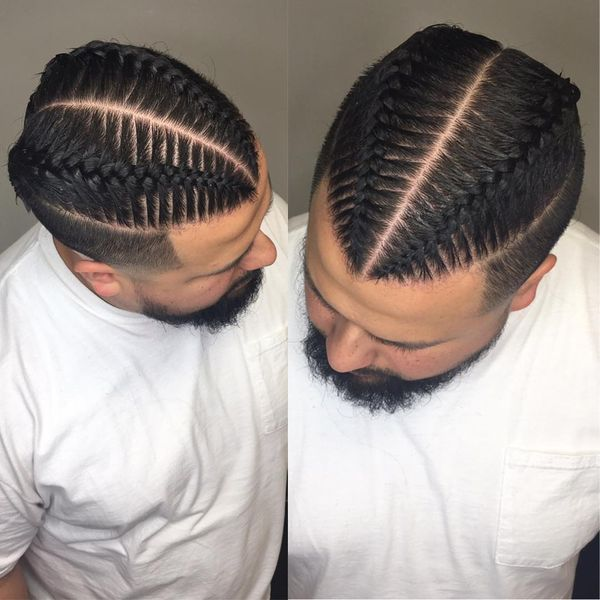 Styles For Men Braid Styles Hairstyles Men Braids With