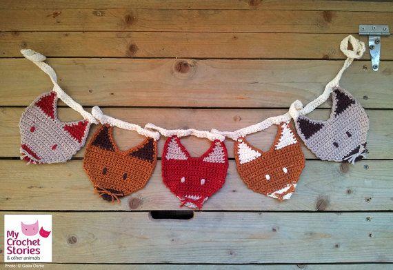 Crochet Pattern Crochet Garland Pattern от MyCrochetStories