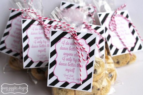 Dance Competition Good Luck Gift Idea | Amy Giggles Designs
