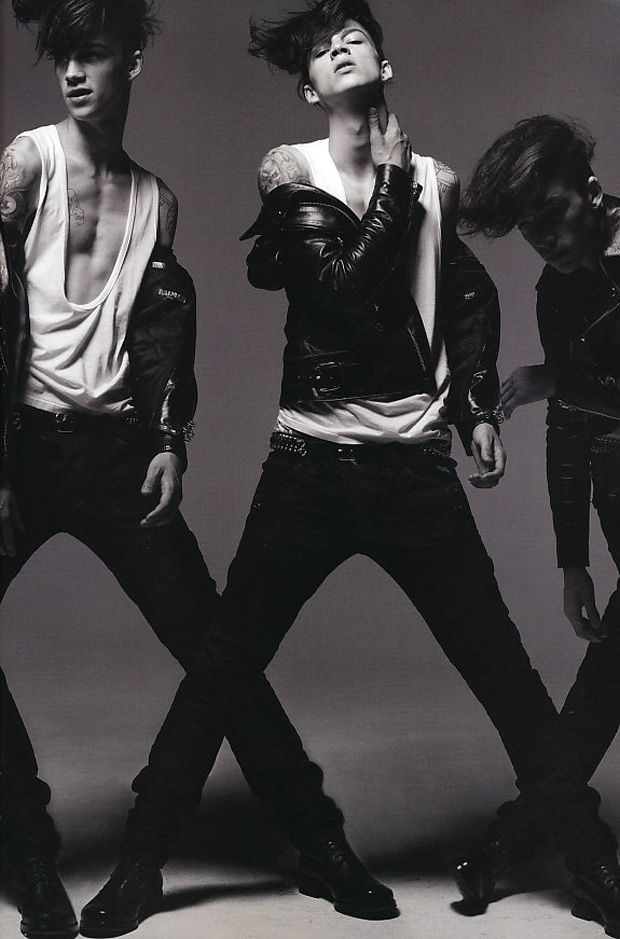 Balmain Homme offers a closer look into their new menswear collection through the pages of HUGE Magazine.