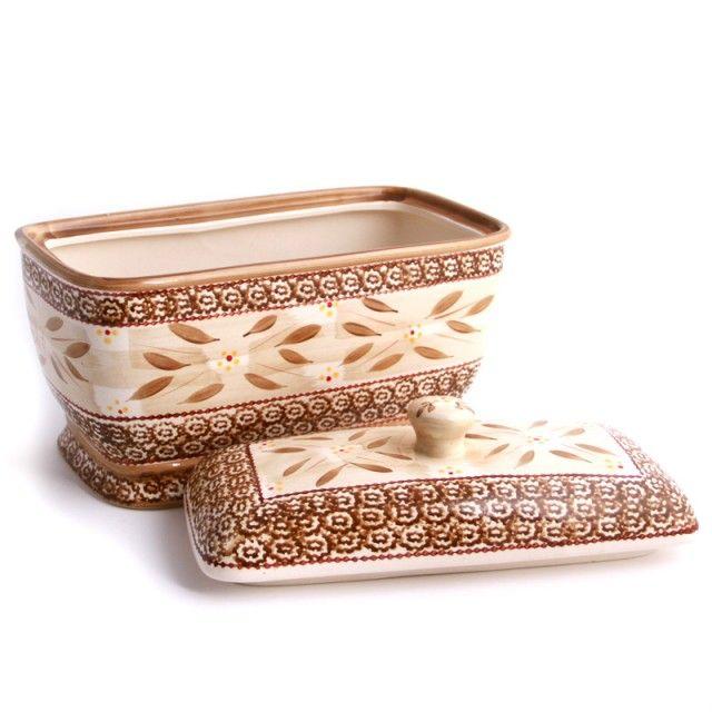 temp-tations® by Tara temp-tations® Old World Covered Bread Box  sc 1 st  Pinterest & 27 best Old World Pottery.....Temp-tation images on Pinterest ...