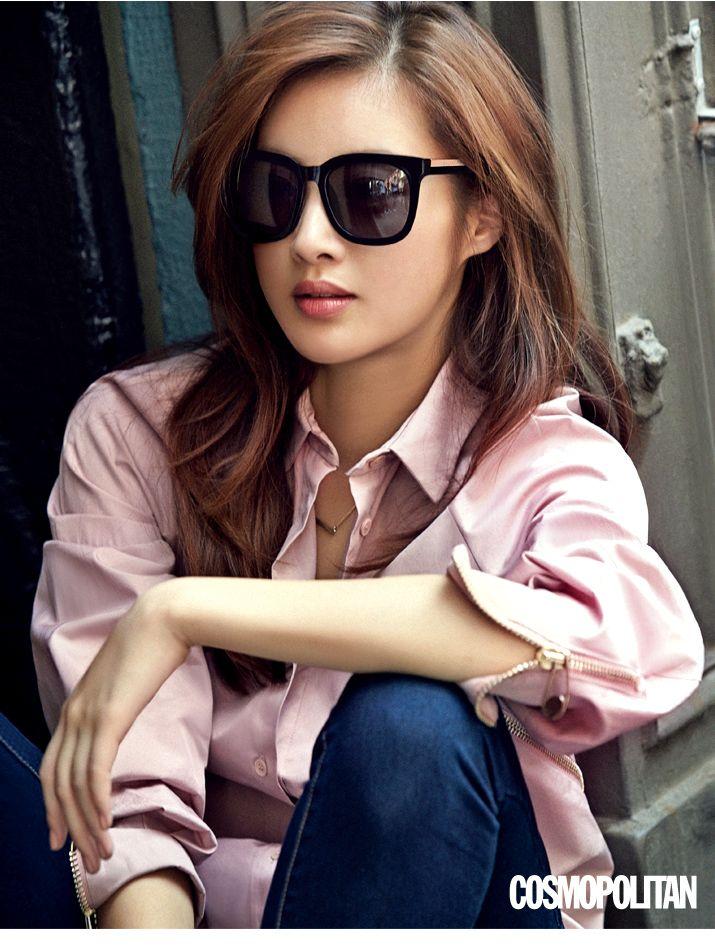 Style Korea The Art Of Korean Fashion Kang So Ra For Cosmopolitan Korea October 2015