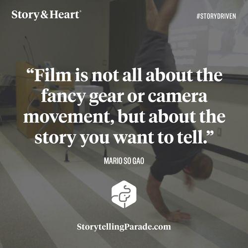 30 key storytelling lessons from 58 filmmakers. — Story & Heart Blog