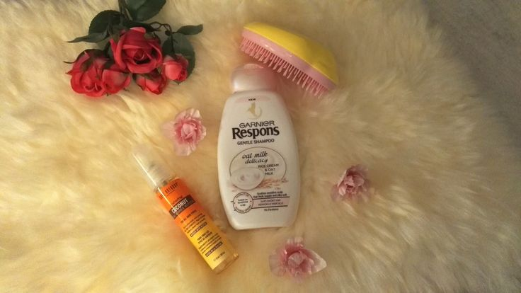 hair routine products shiny healthy