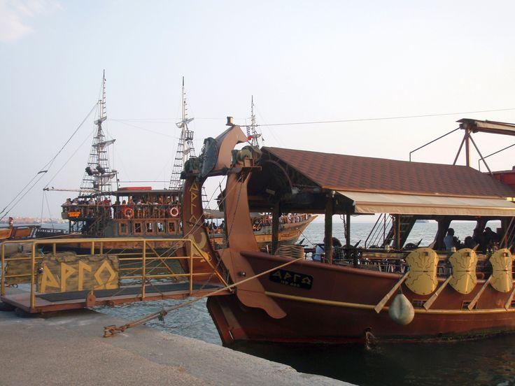 Boat bar ARGO #thessaloniki