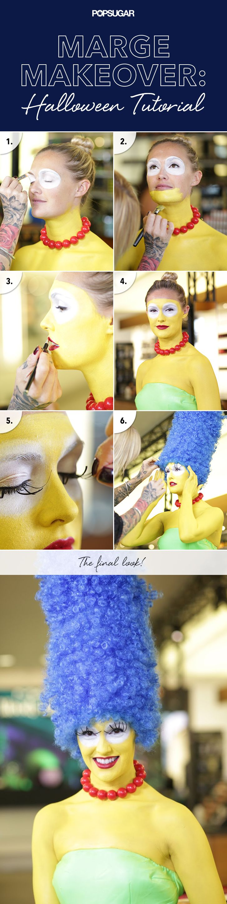 Marge Simpson for #Halloween? This is a fun one!
