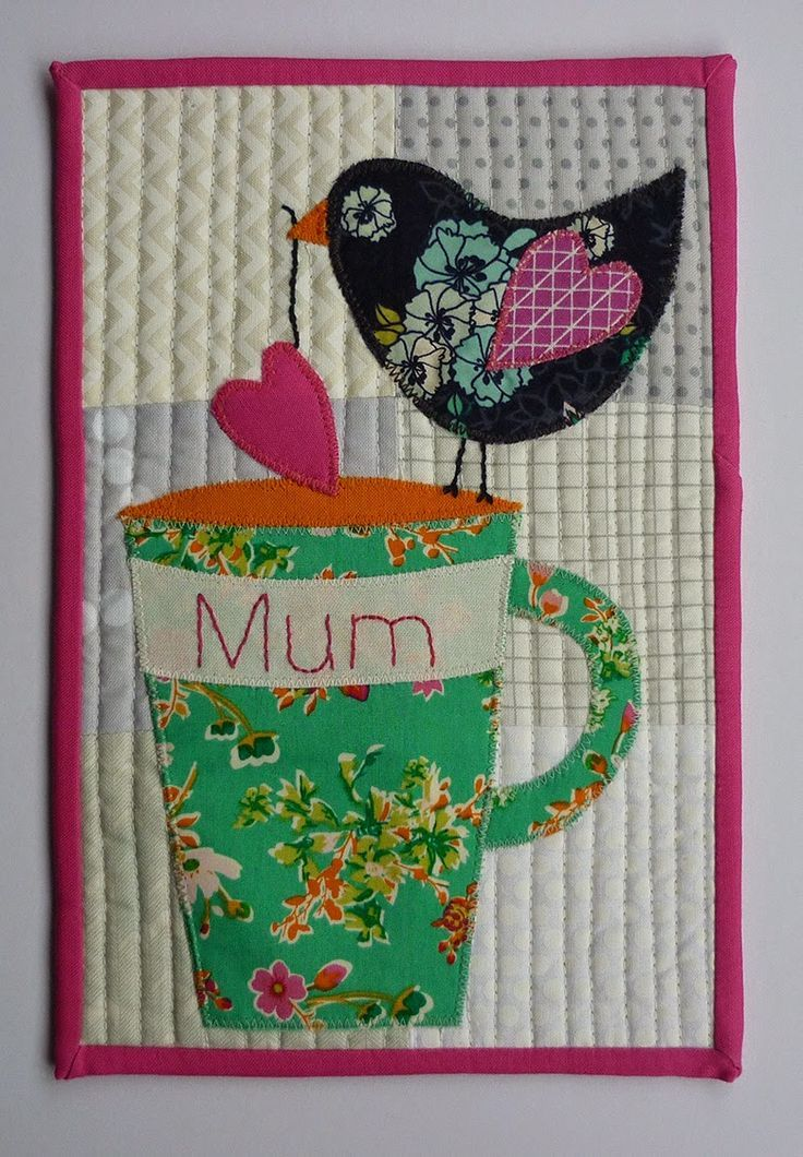 Mug Rug Tutorial and free .pdf template