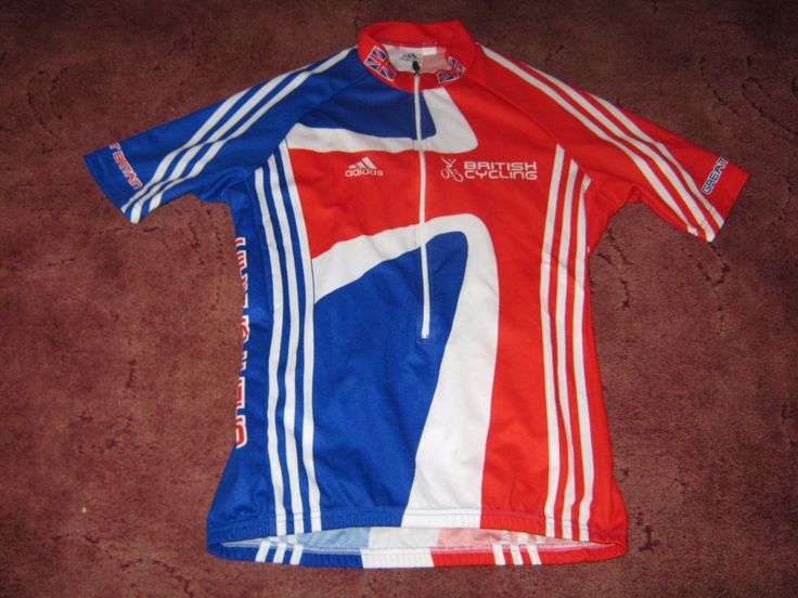 TEAM GB : BRITISH CYCLING ADIDAS CYCLING JERSEY - the one Alan Macrae has/had