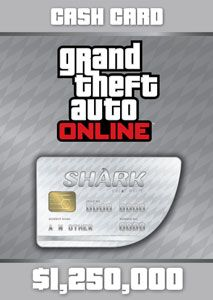 GTA Online The Great White Shark Cash Card - PlayStation 4 [Digital Download Add-On], CUSA00419_