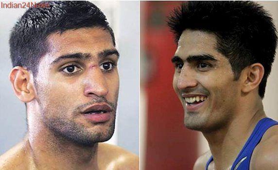 Vijender Singh hasn't won even half a major title, says Amir Khan