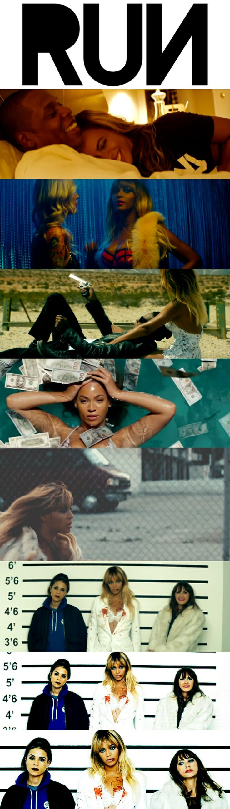 Beyonce  Jayz - Run