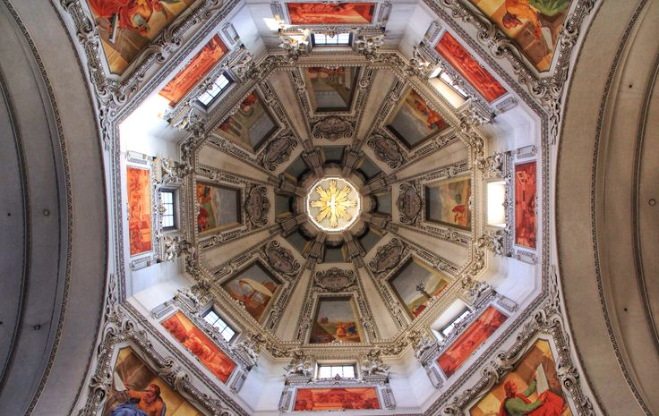 The cathedral dome (Salzburg)