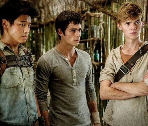Minho, Thomas and Newt in the Homestead | T H E M A Z E R ...