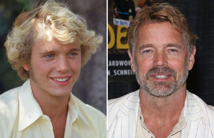 JOHN SCHNEIDER (1980 AND 2016) -  '80s TV stars: Then and now  -  October 11, 2016