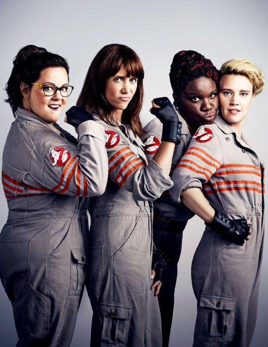 "andyourhostkristenwiig: "" Ghostbusters Cast (Credit: Justin Stephens) """