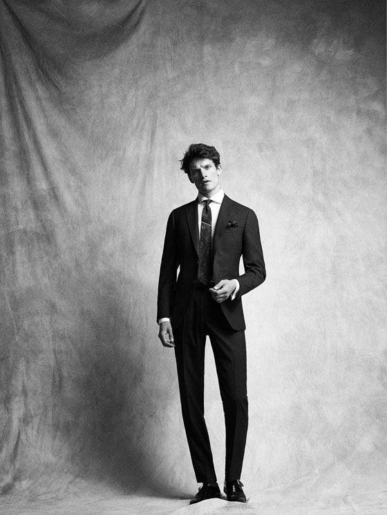 PANTALÓN LANA GRIS SLIM FIT PERSONAL TAILORING de HOMBRE - Personal Tailoring de Massimo Dutti de Primavera Verano 2017 por 99.95. ¡Elegancia natural!