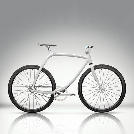 Rizoma 77/011 Elegance and harmony make the metropolitan bike more than just a means of travel, but rather a work of design and a declaration of an esthetic and existential philosophy. Rizoma's newest addition is its multi-functionality: with dual signal speed and fixed-gear (using a threaded sprocket, a growing trend among urban cyclists) capabilities. The rear wheel comes with two mounts that allow the rider to choose freely between two pulleys, depending on their preferred mode of travel.