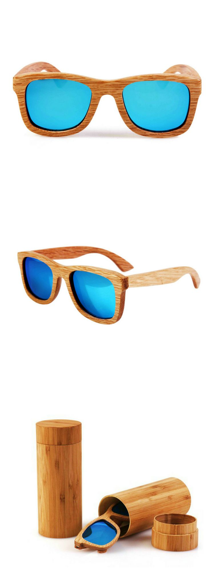 Made from bamboo, this sunglass for women is sure to protect your eyes from the harmful rays of the sun while keeping you looking stylish | sunglass for round face, sunglass for women round face, sunglasses for round face, sunglasses for your face shape round, sunglasses for women round face, sunglasses for women with round faces, round face sunglasses woman, round face sunglasses shape, round face sunglasses woman shape | #sunglass #sunglasses #eyeglasses #eyeglass #eyewear #shades #sunnies