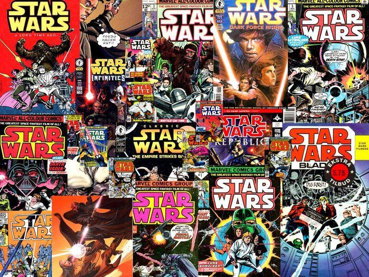 Star Wars a fumetti - guida per iniziare