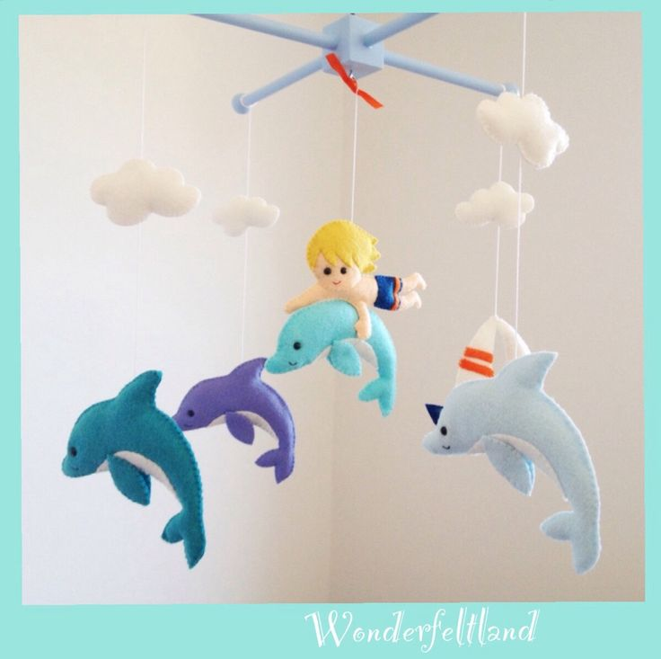 97 curated all things felt ideas by ruthschwikkard for Sea animal baby mobile