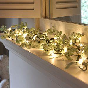 Mistletoe Fairy Lights - christmas lights £40