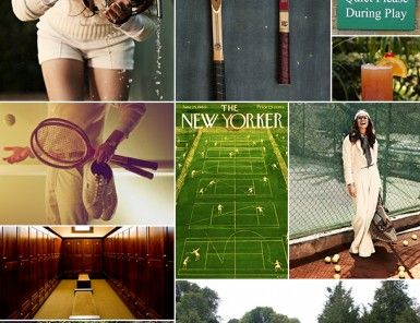 Tennis Inspiration Board   Camille Styles