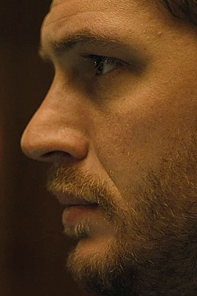 Tom Hardy...this man has the best profile, damn
