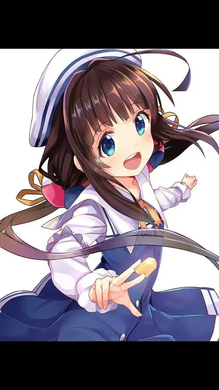 Ghim của Chi Hoa Tím trên Cute girl Anime, Đang yêu